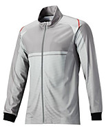 cheap -Women's Men's Fishing Jacket Skin Coat Outdoor UPF50+ Quick Dry Lightweight Breathable Jacket Spring Summer Fishing Camping & Hiking Cycling / Bike Blue Grey / Long Sleeve / Stretchy