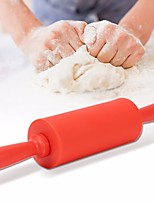 cheap -22cm Silicone Rolling Pin Safety Food Silicone Material for Baking Pastry Tool for Bread Cake Dough Random Color