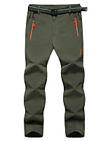 cheap -Men's Hiking Pants Trousers Summer Outdoor Quick Dry Breathable Stretchy Sweat wicking Pants / Trousers Black Army Green Hunting Fishing Camping / Hiking / Caving L XL XXL XXXL 4XL