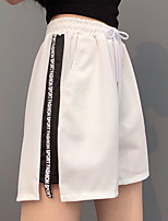 cheap -Women's Jogger Shorts Drawstring Cotton Letter & Number Sport Athleisure Shorts Breathable Soft Comfortable Plus Size Everyday Use Casual Daily Outdoor Exercising