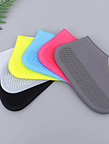 cheap -Rain Shoe Covers Silicone Shoe Covers Waterproof Rainy Days Thicken Non-slip wear-resistant outdoor rain boots
