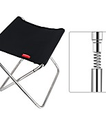 cheap -Camping Stool Multifunctional Portable Breathable Ultra Light (UL) Stainless Steel / Iron for 1 person Fishing Beach Camping Traveling Autumn / Fall Winter Black Grey Orange Green