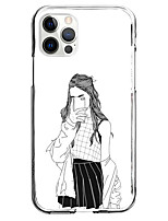 cheap -Creative Characters Case For Apple iPhone 12 iPhone 11 iPhone 12 Pro Max Unique Design Protective Case Pattern Back Cover TPU