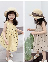cheap -2021 children's summer new products girls korean summer dress polka dot dress princess skirt 20533