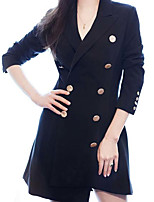 cheap -A-Line Minimalist Sexy Party Wear Cocktail Party Dress Shirt Collar Long Sleeve Short / Mini Spandex with Buttons 2021