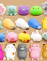 cheap -Squishy Squishies Squishy Toy Squeeze Toy / Sensory Toy 16-30 pcs Mini Animal Stress and Anxiety Relief Kawaii Mochi For Kid's Adults' Boys and Girls