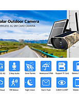 cheap -1080P 4G External SIM Card Security Camera Solar Panel Power Metal Shell Rechargeable Battery Outdoor Surveillance IP Camera