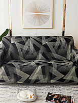 cheap -Sofa Cover 1 Pc Geometric Black Gray Sofa Cover Elastic  To Living Room Pet Sofa Dust Cover Recliner Sofa Cover