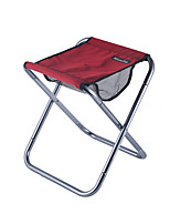 cheap -Camping Stool Multifunctional Portable Breathable Ultra Light (UL) Aluminum Alloy for 1 person Fishing Beach Camping Traveling Autumn / Fall Winter Red Blue Grey