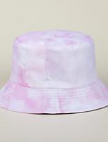 cheap -Men's Women's Fisherman Hat Hiking Cap 1 PCS Winter Outdoor Sunscreen Camo Cotton Yellow Pink Orange for Fishing Beach Camping / Hiking / Caving