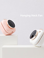 cheap -222 Portable Hand-held Neck-hanging Waist-hanging Mini Photo Charging Fan Three Speed Adjustable For Home Office