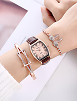 cheap -Quartz Watches Analog Quartz Stylish Minimalist Creative / PU Leather