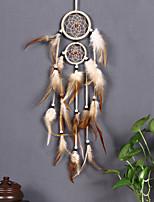 cheap -Dreamcatcher - Feather Vintage 1 pcs Wall Decorations