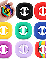 cheap -Fidget Sensory Suction Cup Stress Reliever Grip Toy, Grab and Snap Hand Toy Anti-Stress Gadgets Squeeze Toy Funny Fidget Toy Gift Bag Filler for Kid Adults