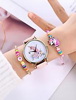 cheap -Women's Quartz Watches Analog Quartz Stylish Casual Creative Large Dial / PU Leather