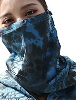 cheap -Men's Cycling Face Mask Cover Ski Mask Balaclava Cap Outdoor UV Sun Protection Windproof Quick Dry Breathable Hunting Ski / Snowboard Fishing Camouflage Color Camouflage Blue Jungle camouflage