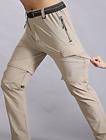 cheap -Men's Hiking Pants Trousers Hiking Cargo Pants Convertible Pants / Zip Off Pants Solid Color Summer Outdoor Tailored Fit Waterproof Ultra Light (UL) Antistatic Quick Dry Nylon Spandex Pants / Trousers