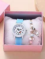 cheap -Kids Quartz Watches Analog Quartz Stylish Cartoon Creative Large Dial / Silicone