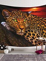 cheap -Wall Tapestry Art Decor Blanket Curtain Hanging Home Bedroom Living Room leopard  Modern  Animal