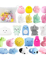 cheap -Squishy Squishies Squishy Toy Squeeze Toy / Sensory Toy 25 pcs Mini Animal Stress and Anxiety Relief Kawaii Mochi For Kid's Adults' Boys and Girls