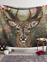 cheap -Wall Tapestry Art Decor Blanket Curtain Hanging Home Bedroom Living Room Decoration Polyester Elk