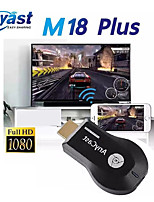 cheap -Anycast M18 Plus HDMI 2.0 Wireless HDMI Extender Transmitter Wireless Mirroring Chrome Google Home WiFi Miracast Airplay DLNA