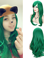 cheap -Women's Long Wave Hair Synthetic Wig Cosplay Costume Adjustable Heat Resistant Hair Wigs