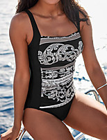 cheap -Women's One Piece Swimsuit Swimwear Bodysuit Breathable Quick Dry Sleeveless Swimming Surfing Water Sports Summer