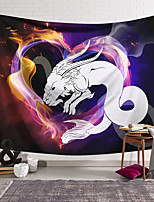 cheap -Wall Tapestry Art Decor Blanket Curtain Hanging Home Bedroom Living Room Colourful Polyester Snake