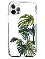 cheap -Plants Tropical Flowers Case For Apple iPhone 12 iPhone 11 iPhone 12 Pro Max Unique Design Protective Case Pattern Back Cover TPU