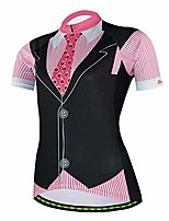 cheap -short sleeve cycle racing shirt bicycle bike girl sportwear clothing d403 (shirts 04, s)
