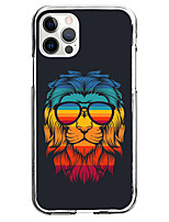 cheap -Creative Lion Case For Apple iPhone 12 iPhone 11 iPhone 12 Pro Max Unique Design Protective Case Pattern Back Cover TPU