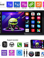 cheap -Car 7-inch Android universal navigation MP5 player GPS navigation integrated machine mp3mp4 radio