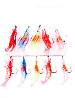 cheap -15 pcs Lure kit Fishing Lures Soft Bait Craws / Shrimp lifelike Bass Trout Pike Lure Fishing