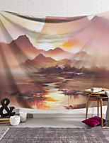 cheap -Wall Tapestry Art Decor Blanket Curtain Hanging Home Bedroom Living Room  Modern Nature Landscape