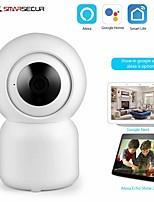 cheap -Tuya Smart life WiFi IP Camera 1080P Home Security Mini Camera Night Vision Infrared Two Way Audio