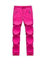 cheap -Women's Hiking Pants Trousers Solid Color Summer Outdoor Quick Dry Breathable Soft Wear Resistance Spandex Pants / Trousers Dark Grey Black Rose Red Hunting Fishing Camping / Hiking / Caving M L XL