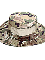 cheap -Men's Sun Hat Fishing Hat Hiking Hat Outdoor UV Sun Protection Windproof UPF50+ Quick Dry Spring Summer Hunting Ski / Snowboard Fishing Camouflage Color Black Camouflage / Breathable