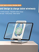 cheap -Nillkin 15W Wireless iPad Charger Tablet Stand 2 in 1 Holder Charging Dock Wireless Charging Stand for iPad Pro 12.9 iPad Pro 11 iPad 8/7/6/5 Gen iPad Mini Samsung Tab S7/S6/S5e and iPhone 12/11 Pro Max