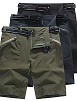 cheap -Men's Hiking Shorts Outdoor Waterproof Lightweight Breathable Quick Dry Nylon Shorts Black Army Green Grey Hunting Fishing Climbing M L XL XXL XXXL