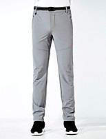 cheap -Men's Hiking Pants Trousers Solid Color Summer Outdoor Quick Dry Breathable Soft Wear Resistance Spandex Pants / Trousers Dark Grey Black Grey Dark Blue Hunting Fishing Camping / Hiking / Caving L XL