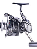 cheap -Fishing Reel Spinning Reel 4.9:1 Gear Ratio 12 Ball Bearings Easy Install for Sea Fishing / Fly Fishing / Freshwater Fishing
