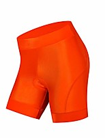cheap -cycling shorts women bike gel silicone padded mtb cycling shorts mountain road racing tights trousers riding bike underwear clothes summer quick dry orange p.