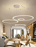 cheap -LED Pendant Lights Circle Design Modern Design for Living Dining Room Bedroom Home Decor Ring Hanging Chandeliers Lamp Nordic Style Kitchen Fixture 110-240V