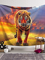 cheap -Wall Tapestry Art Decor Blanket Curtain Hanging Home Bedroom Living Room Tiger Modern Animal
