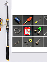 cheap -Fishing Rod and Reel Combo Telescopic Rod 210/240/270/300/360 cm Portable Lightweight Sea Fishing