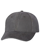 cheap -authentic headwear - ''the classic'' structured cap - ah30 - adjustable - charcoal