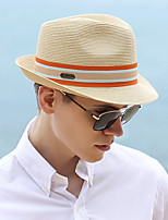 cheap -Fashion Pastoral Straw Hats with Trim 1 Piece Party / Evening / Casual Headpiece