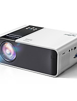 cheap -HD Mini Projector TD90 Native 1280 x 720P LED Android WiFi Projector Video Home Cinema 3D Smart Movie Game Projector