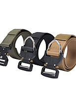 cheap -Men's Military Tactical Belt Breathable Quick Dry Wearable for Solid Colored Nylon Fall Spring Summer